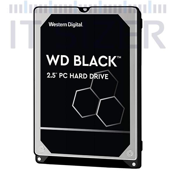 Western Digital Black 2.5-7mm, 500GB SATA, Hard Disk Drive (Renewed)