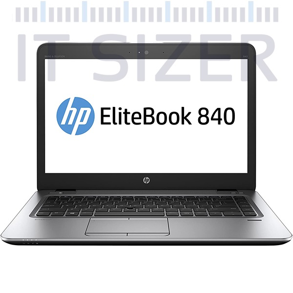 HP EliteBook 840 G4, 14 Inch, Core i5-7300U, 8GB RAM DDR4, 256GB SSD-M2, Windows 10 Pro (Renewed)