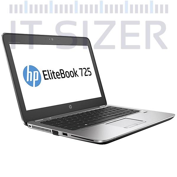 HP EliteBook 725 G4 Light Weight Business Laptop, AMD Quad Core A12 CPU, 16GB DDR4 RAM, 512GB SSD Hard, 12.5 inch Full HD Display, Windows 10 Pro (Renewed)