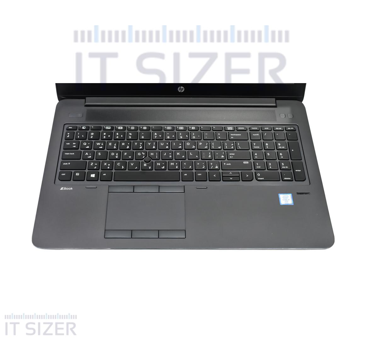 HP ZBook 15 G3 Business Laptop, Intel Core i7 CPU, 16GB DDR4 SODIMM RAM, 512GB SSD M2, 15 inch Display, Windows 10 pro (Renewed)