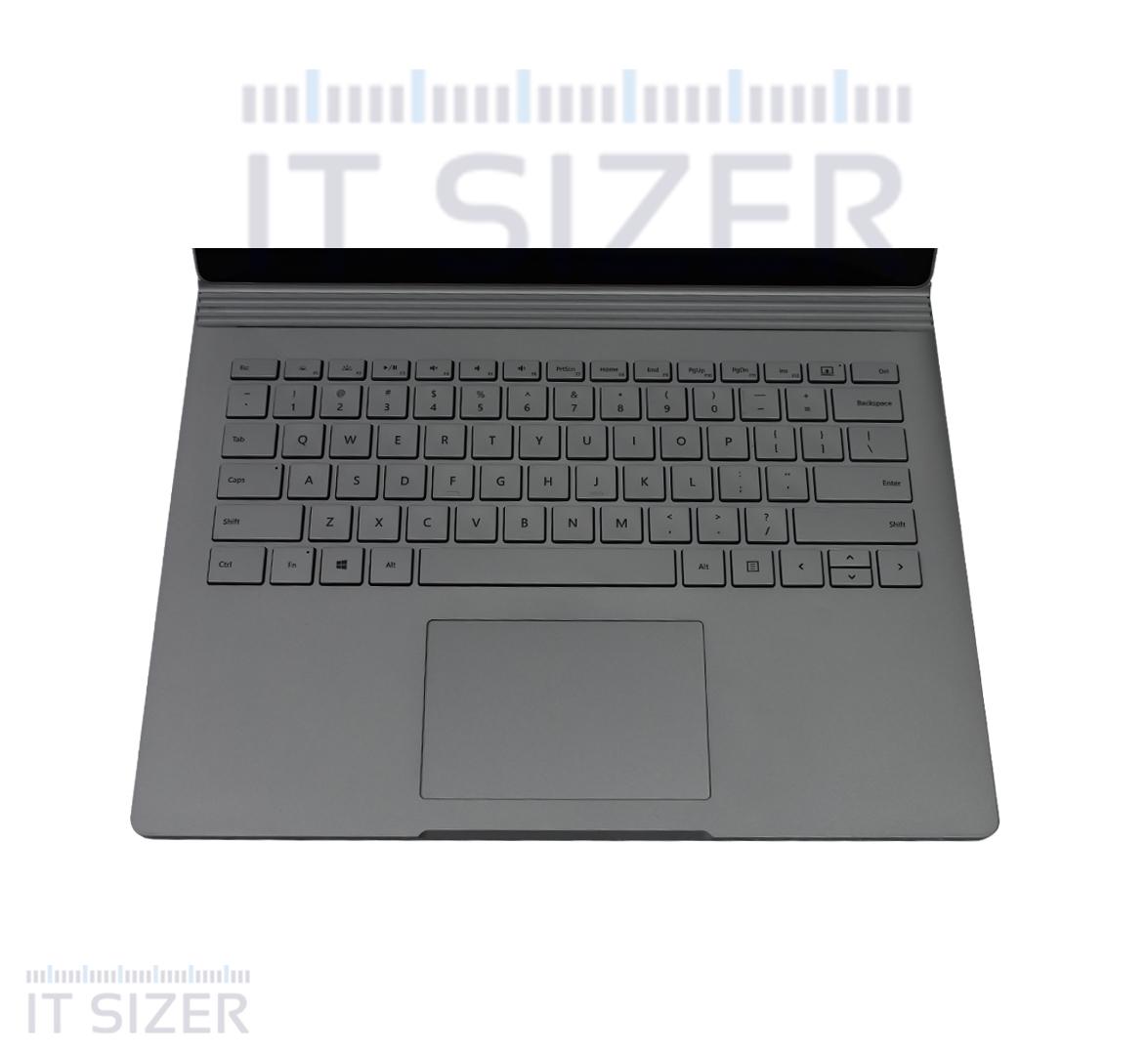 Microsoft Surface Book Business Laptop, Intel Core i7-6600U CPU, 16GB DDR4 BUILTIN RAM, 512GB SSD M2, 12 inch Touch Display, Windows 10 Pro (Renewed)