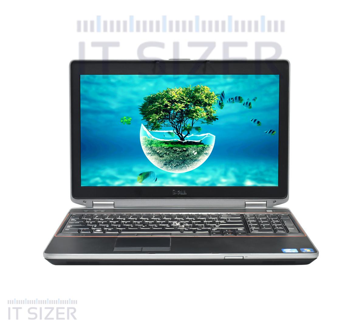 Dell Latitude E6520 Business Laptop, Intel Core i5-2520M CPU, 8GB DDR3 SODIMM RAM, 256GB SSD 2.5, 15 inch Display, Windows 10 Pro (Renewed)
