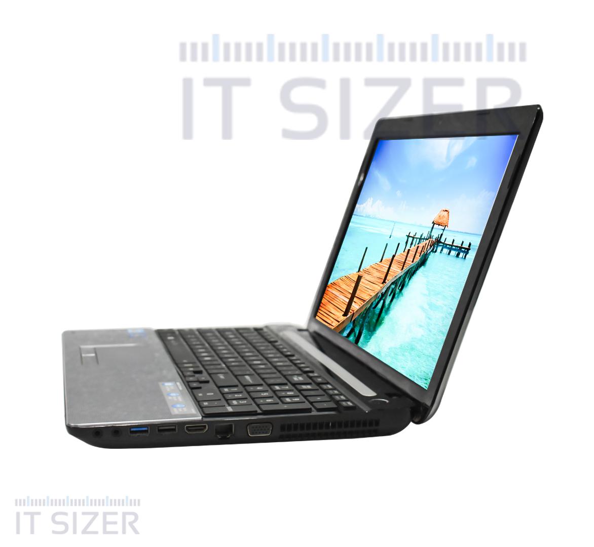 Toshiba Satellite C55-A5195 Business Laptop, Intel Core i3-3110M CPU, 4GB DDR3L SODIMM RAM, 320GB SATA 2.5 Hard, 15 inch Display, Windows 10 Pro (Renewed)