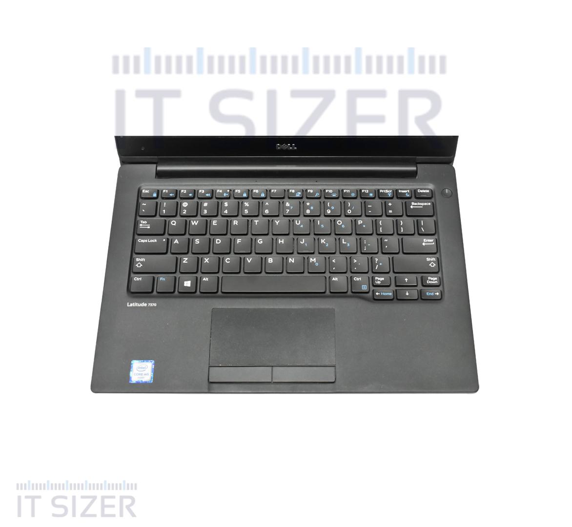 Dell Latitude 7370 Business Laptop, Intel Core i5-6Y57 CPU, 8GB DDR3 BUILTIN RAM, 256GB SSD M2, 13 inch Display, Windows 10 Pro (Renewed)