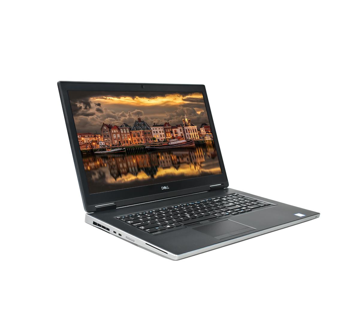 Dell Precision 7730 Business Laptop, Intel XEON E-2186M CPU, 16GB DDR4 SODIMM RAM, 256GB SSD M2, 17 inch Display, Windows 10 Pro (Refurbished)