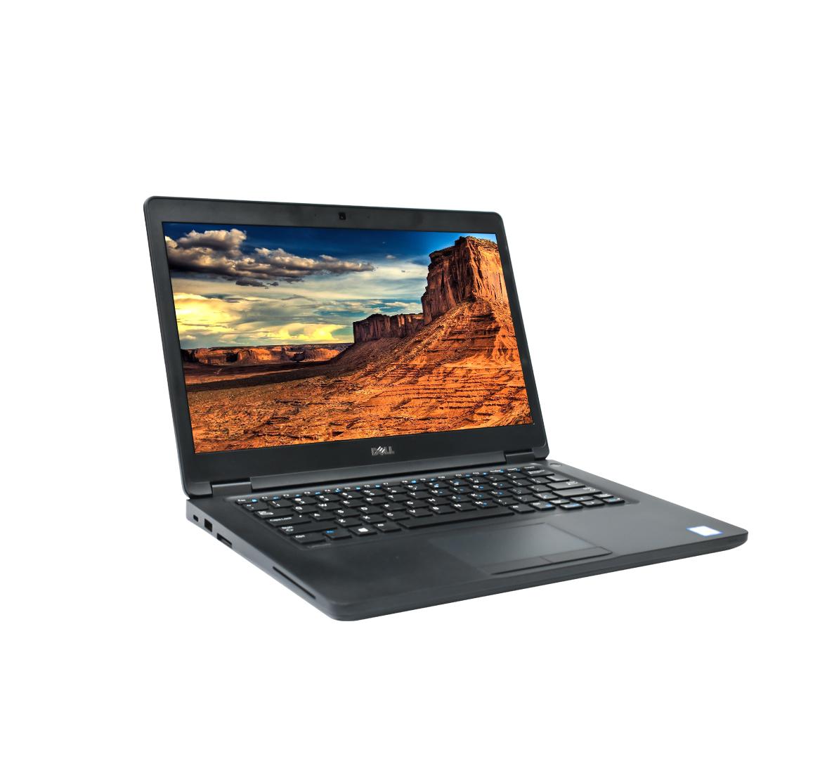 Dell Latitude 5480 Business Laptop, Intel Core i5- 6300U @ 2.40GHZ CPU, 8GB DDR4 RAM, 256SSD, 14 inch Display, Windows 10 (Refurbished)